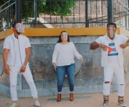 Candidata de Va por la CDMX pone a bailar a iztacalquenses al ritmo de reggaeton