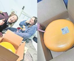 Granjero regala 12 kilos de queso a chica en su primera cita
