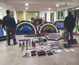 Clausuran y desmantelan casino clandestino de grupo delictivo, en el Edomex