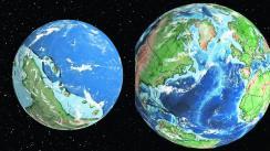 Ian Webster crea mapa de evolución de la Tierra Londres