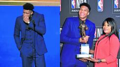 Giannis Antetokounmpo Jugador más valioso NBA Dedicatoria