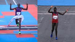 kenianos ganan primer lugar categorías femenil varonil maratón de la ciudad de méxico