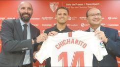 En Sevilla confirman que 'Chicharito' está por irse a la MLS