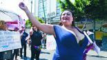 Trabajadores marchan para exigir derechos, en CDMX