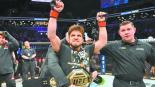 Cejudo defendió título 125 libras Nueva York