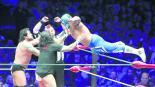 lucha libre rush los ingobernables diamante azul