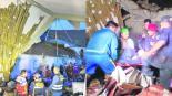 derrumbe hotel boda tragedia víctimas Perú