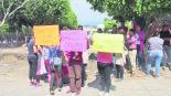 Protesta Robo Primaria Morelos