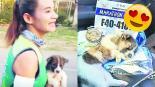 Corredora rescata cachorrito maratón Tailandia