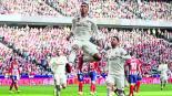 real madrid atlético madrid liga española juego partido marcador goliza