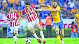 Los Tigres Necaxa Estadio Universitario encuentro reñido a dos puntos de distancia Nuevo León
