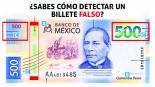 México Economía Elemento de seguridad Billetes