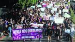 Marcha Mujeres Violencia Feminicidio Morelos