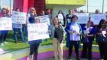 Protesta Estancias Infantiles Nezahualcóyotl AMLO
