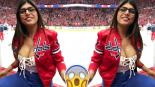 Mia Khalifa Operación Implante Hockey