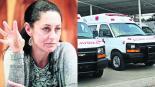 Gobierno CDMX plan ambulancias