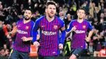 Barcelona contra Rayo Vallecano jornada 27 liga española goliza marcador