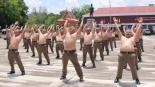 Ponen a policías a bajar de peso, en Tailandia, dieta, ejercicio