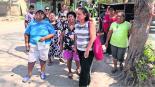 Damnificados piden apoyo de la gente reconstrucción de sus viviendas