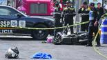 policías Camión de basura Iztacalco CDMX
