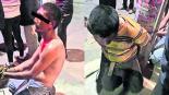 Xochimilco Habitantes Capturan Trío de ladrones Golpiza Policía Protege