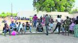 Migrantes varados Tapachula Chiapas Trámite de libre tránsito