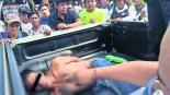 Comerciantes tunden golpes asaltante Cuernavaca