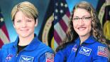 Cancelan Caminata espacial Femenil falta de trajes NASA