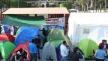 suspenden sesión ordinaria  bloqueo CNTE san lázaro cámara de diputados