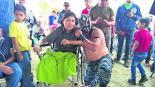 Lucha Libre Joven atropellado Conductor ebrio Juntos en la lucha