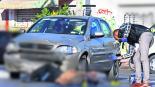 Arrollan a motociclista muere en la calle