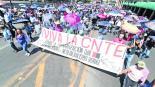 Michoacán Marchan en Chiapas Zapata