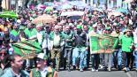 UAEM marchan defensa de la autonomía