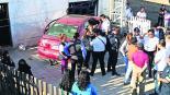 auto se estrella contra casa en metepec