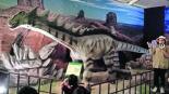 exposición dinosaurios robóticos gigantes en iztapalapa