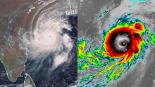 huracán Fani la India se prepara