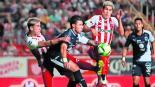 Necaxa derrota a Monterrey en la ida de los cuartos de final del Clausura 2019