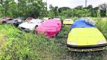 Hallan un campo de Ferraris abandonados Texas