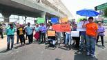 Vecinos exigen seguridad Toluca