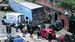 Perecución Santa Fe Trailero Unidad robada CDMX