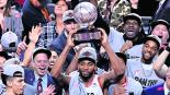 Por primera vez en una final NBA