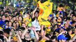 Celebración de Tigres Séptimo título Tragedias de campeonato