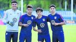Jóvenes mexicanos brillan Sub 20