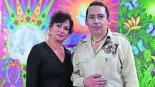 artista plástico salvador cisneros exposición lado humano francisco villa revolución mexicana