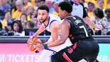 raptors finales nba warriors marcador basquetbol