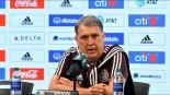 'Tata', feliz por partidos del Tri ante equipos de Conmebol