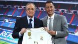 Eden Hazard fue presentado con el Real Madrid