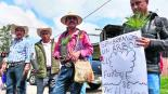 comuneros pobladores cadena humana protestan contra tala clandestina árboles ocuilan edomex mexico