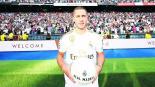 Eden Hazard presentado ante 50 mil