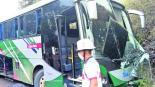 accidente autobús pasajeros choque se estrella tejupilco